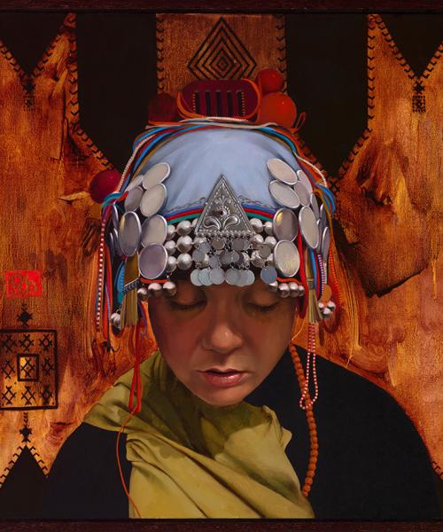 Simona-Ruscheva-Galactic-oil-on-canvas-50x50cm
