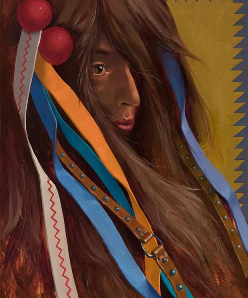 simona-ruscheva-fire-series-5-oil-painting